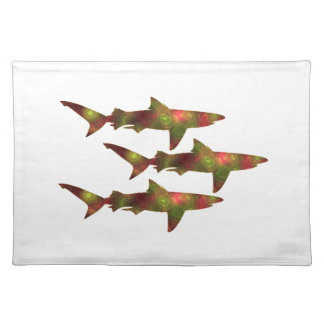 Shark Frenzy Placemat