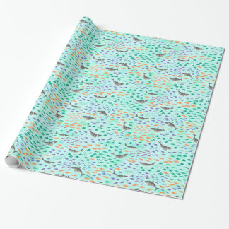 Shark Fun Wrapping Paper