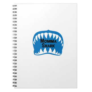 Shark  Gift for Mom Mothers Womes Notebooks