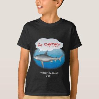 Shark- Got Surfers? T-Shirt