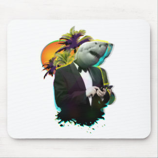 SHARK GUY MOUSE PAD