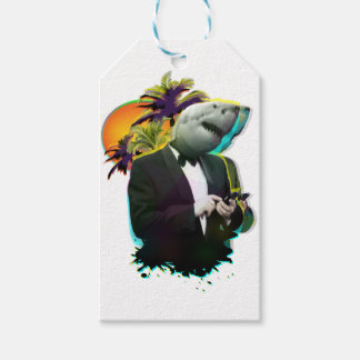 SHARK GUY PACK OF GIFT TAGS