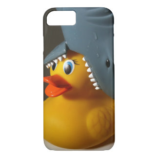 Shark Hat Rubber Duck iPhone 8/7 Case