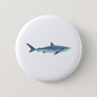 Shark Illustration 2 Inch Round Button