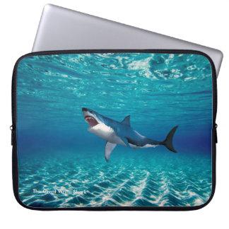 """Shark image for Neoprene Laptop Sleeve 15"""""""
