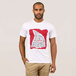 Shark! in Lots of Languages T-shirt