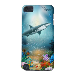 Shark In Ocean iPod Touch (5th Generation) Cover