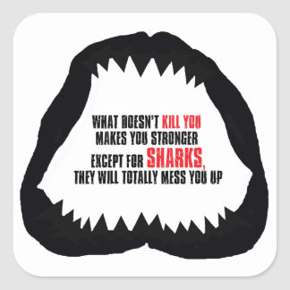 Shark Jaw Sticker