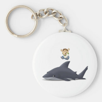 Shark Jumper Keychain