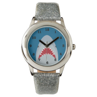 Shark Kids' Numbered Wrist Watch