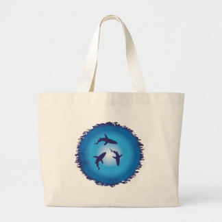 shark large tote bag