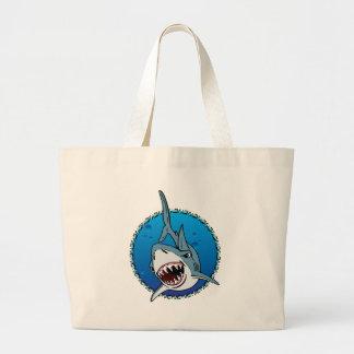 SHARK! LARGE TOTE BAG