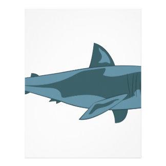 Shark Letterhead