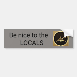 Shark Locals Bumper Sticker