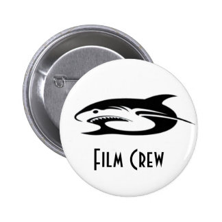 Shark Logo Products 2 Inch Round Button