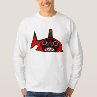 Shark Long Sleeved Tee Shirt