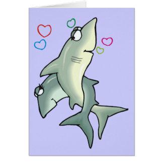 Shark Love Card
