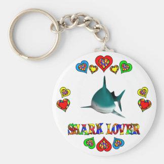 Shark Lover Keychain