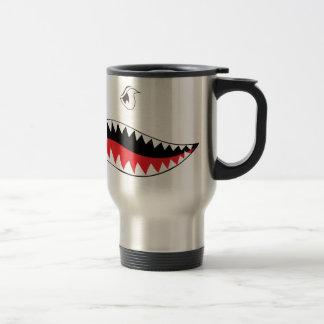 Shark Mouth Paint Travel Mug