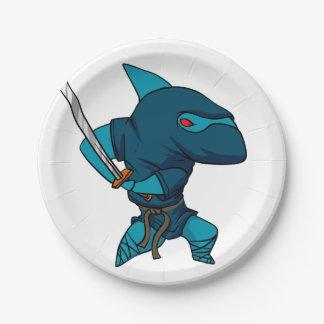 Shark ninja paper plate