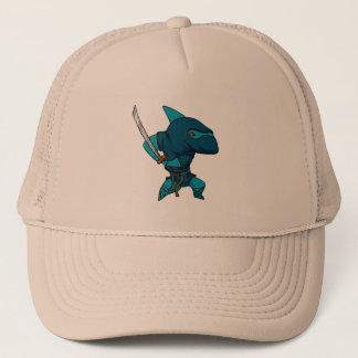 Shark ninja trucker hat