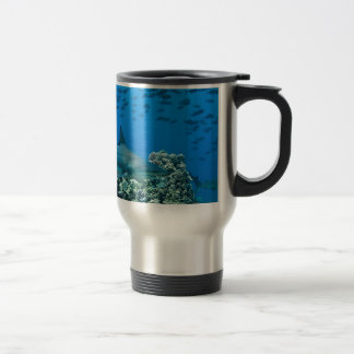 Shark photo merchandise shirt gifts travel mug