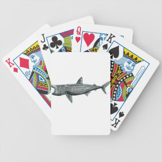 Shark pilgrim bicycle playing cards