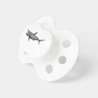 Shark pilgrim pacifier