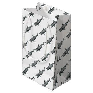 Shark pilgrim small gift bag