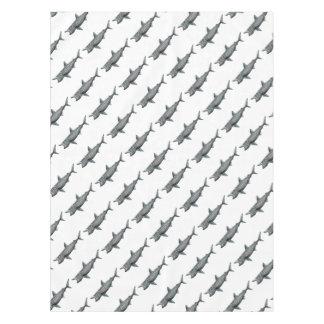 Shark pilgrim tablecloth