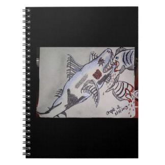 Shark/piranha Notebooks