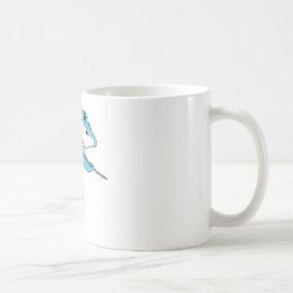 Shark Playing Billiards Coffee Mug