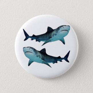 Shark Rally 2 Inch Round Button