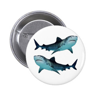 Shark Rally 2 Inch Round Button