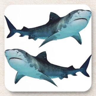 Shark Rally Beverage Coaster