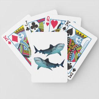 Shark Rally Bicycle Playing Cards