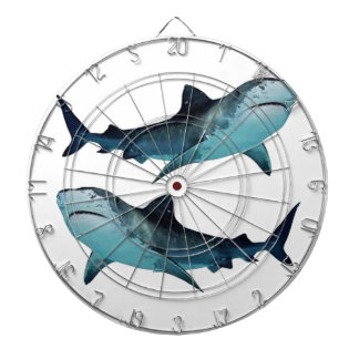 Shark Rally Dartboard