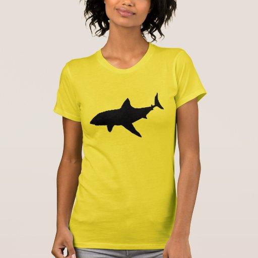 Shark shadow tshirts