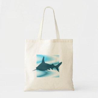 Shark Silhouette Tote