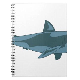 Shark Spiral Notebooks