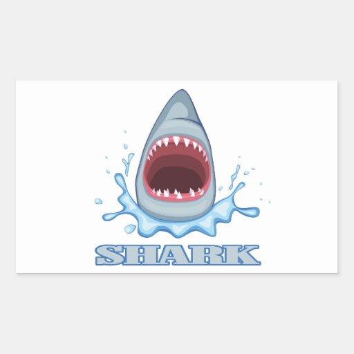 Shark Rectangular Sticker
