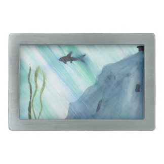 Shark Swimming Belt Buckles