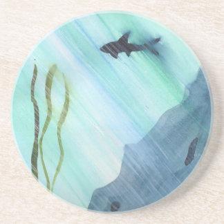 Shark Swimming Drink Coasters