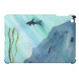 Shark Swimming iPad Mini Case