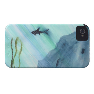 Shark Swimming iPhone 4 Covers