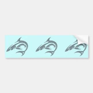 Shark Tattoo Bumper Sticker