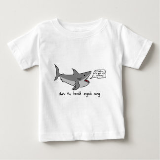 shark the herald angels sing baby T-Shirt