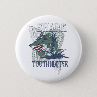 SHARK TOOH HUNTER 2 INCH ROUND BUTTON
