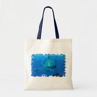 Shark Underwater Tote Bag