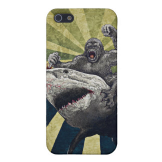 Shark vs Gorilla iPhone 5/5S Covers
